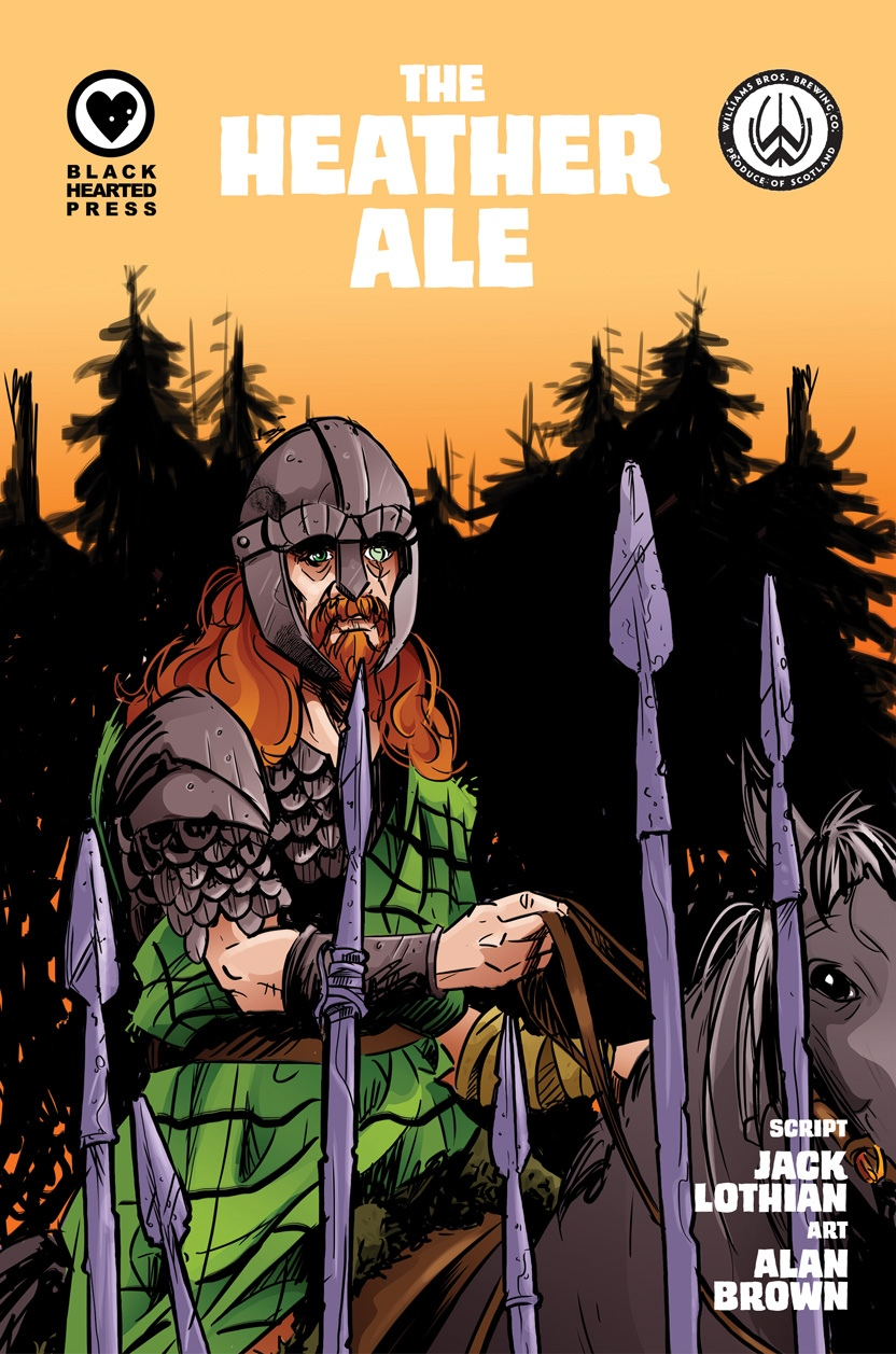 The Heather Ale Comic Cover