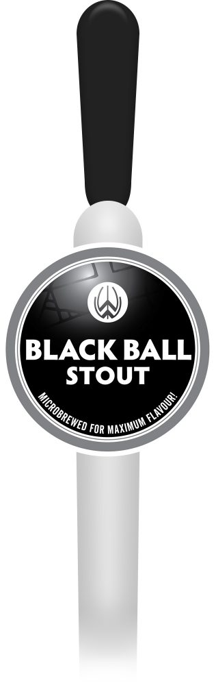 Black Ball Stout (Keg)